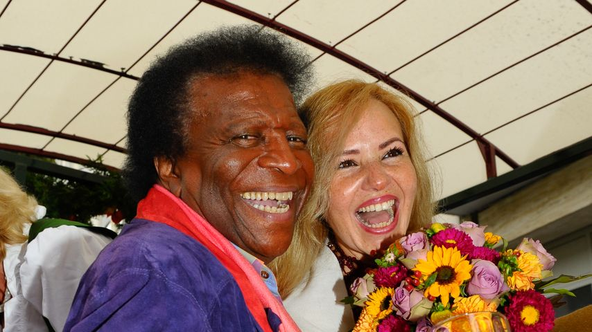 Roberto Blanco und seine Frau Luzandra auf dem Oktoberfest 2014