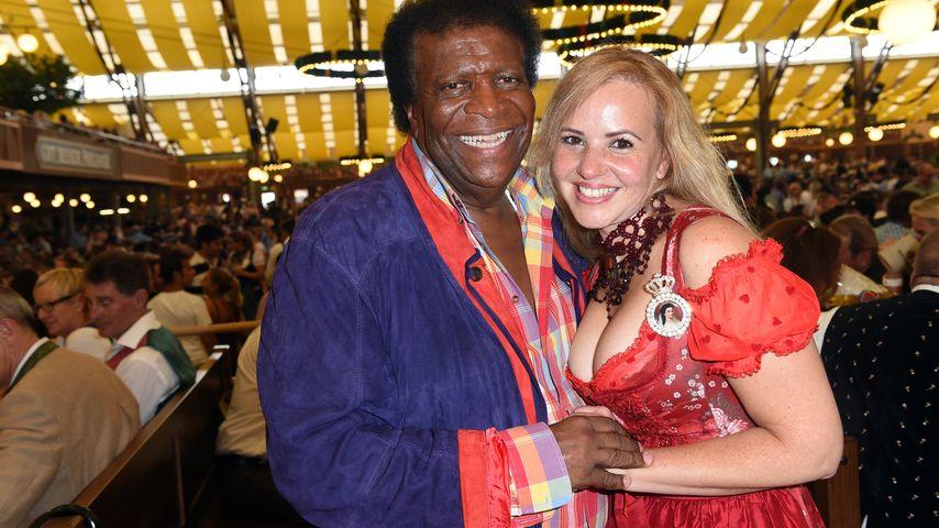 Roberto und Luzandra Blanco auf dem Oktoberfest 2014