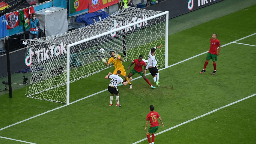 Robin Gosens beim EM-Spiel gegen Portugal