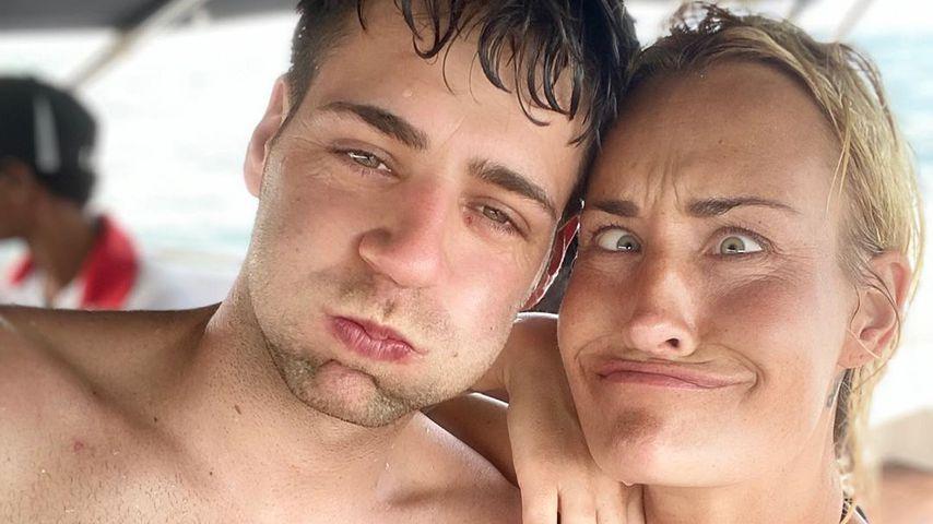 Robin Lewe und Sarah Connor
