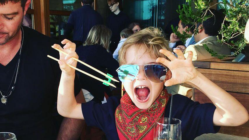 Endlich! Robin Thicke verbringt mehr Zeit mit seinem Sohn