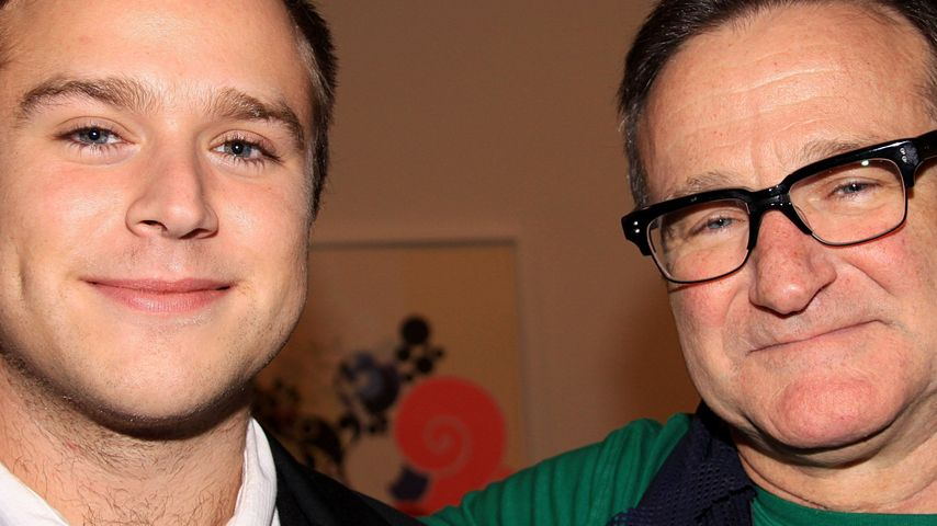Robin Williams und Zachary Pym Williams