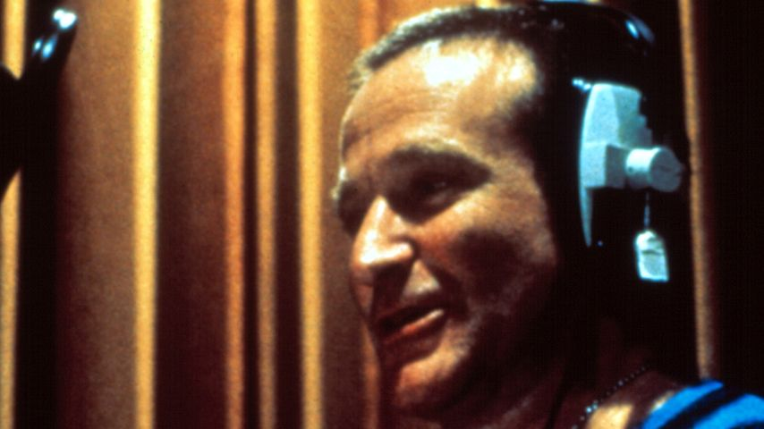 Robin Williams im Ton-Studio