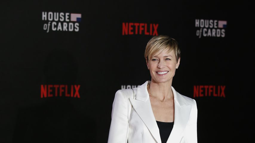 "Robin Wright bei der Premiere der dritten ""House of Cards""-Staffel 2015"