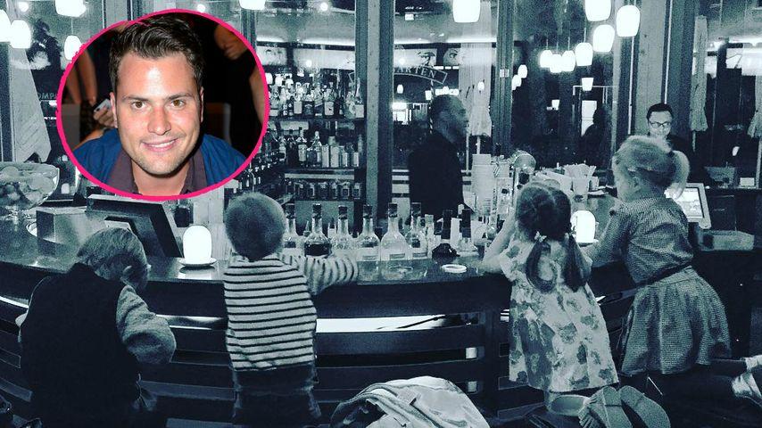 In einer Bar! Rocco Starks Amelia feiert ihren 3. Geburtstag