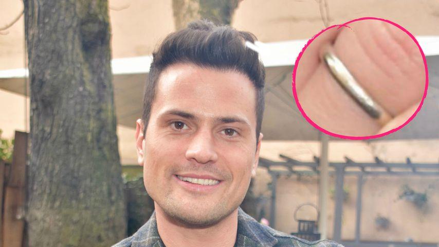 Ehe-Comeback mit Nathalie? Rocco Stark trägt seinen Ehering