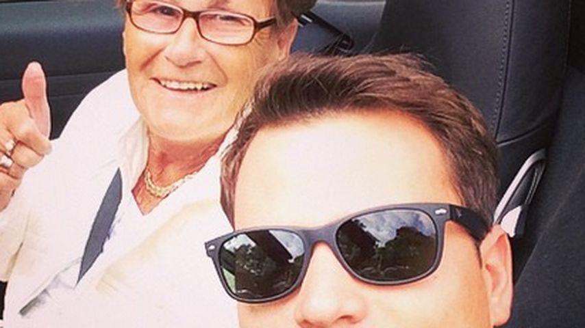 Rocco Stark mit seiner Oma