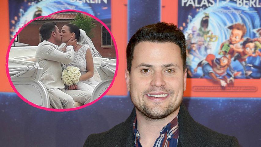 Rocco Stark hat geheiratet: Hier sprach er noch von Trennung