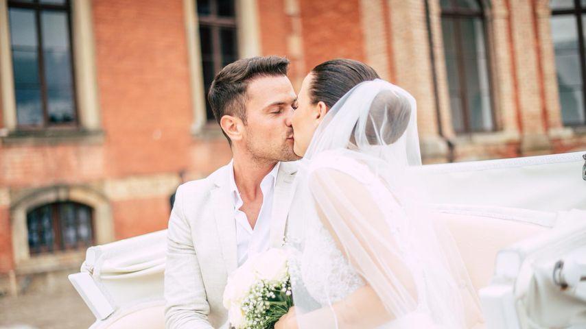 Rocco Stark und seine Frau Nathalie im Sommer 2018