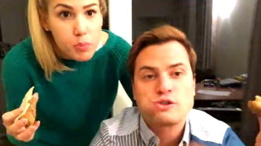 So süß: Angelina Heger & Rocco Stark beim Abendessen