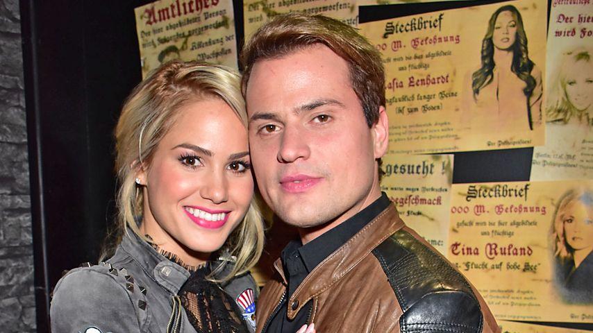 Rocco Stark und Angelina Heger im März 2016