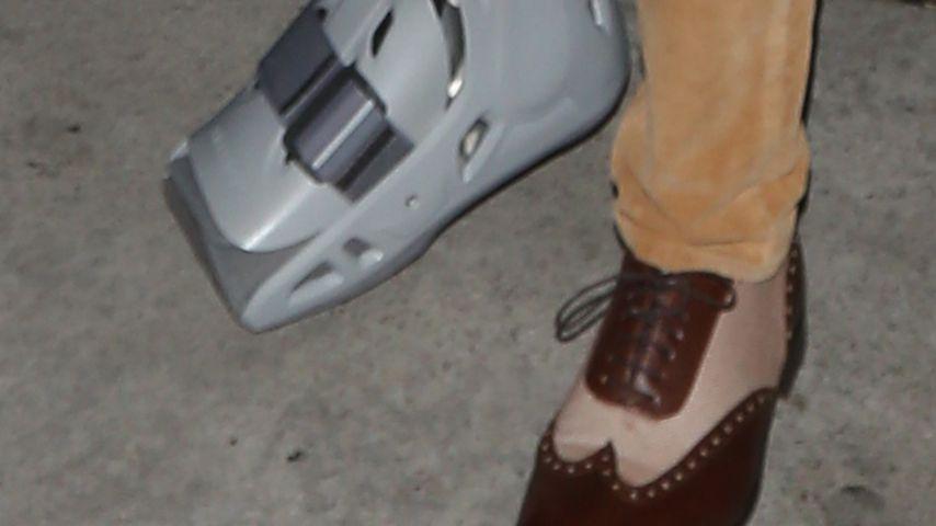 Rod Stewart mit Fuß-Verletzung