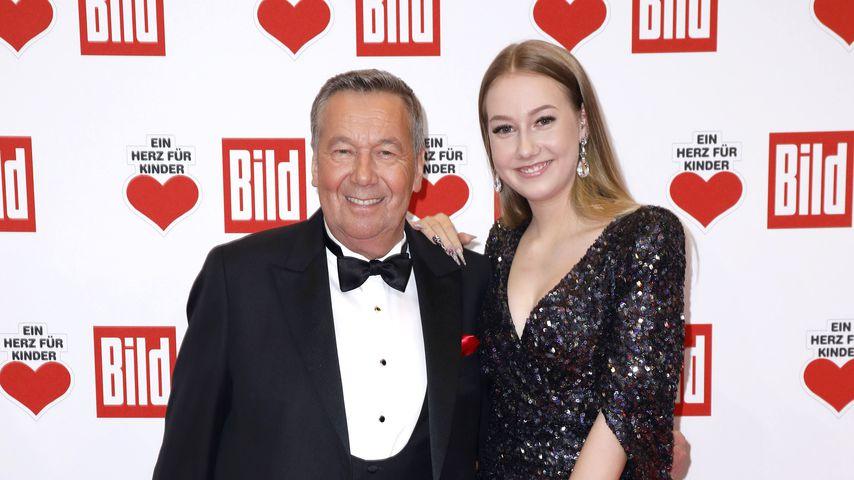 Roland Kaiser mit seiner Tochter Annalena