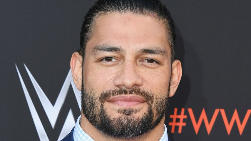 Roman Reigns bei einem WWE-Event in Hollywood