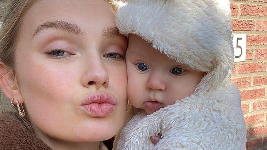 15 Wochen nach Geburt: So geht es Romee Strijds Tochter Mint