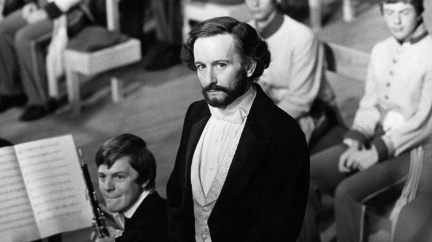 Ronald Pickup als Giuseppe Verdi im Jahr 1979