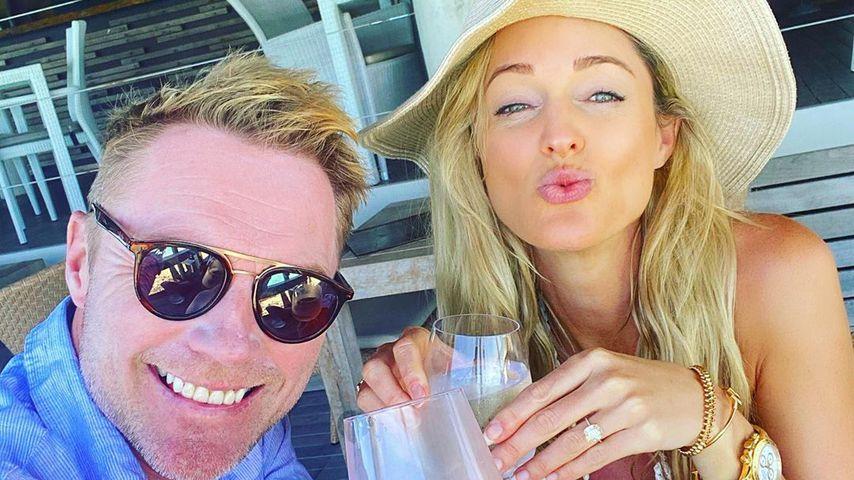 Ronan Keating und seine Frau Storm
