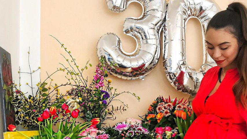 Ronja Hilbig an ihrem 30. Geburtstag