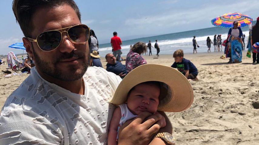 Ronnie Ortiz-Magro und seine Tochter Ariana in Santa Monica