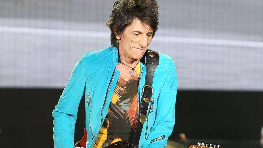 Sorge um Rolling Stone Ronnie Wood: Lungen-OP mit fast 70!