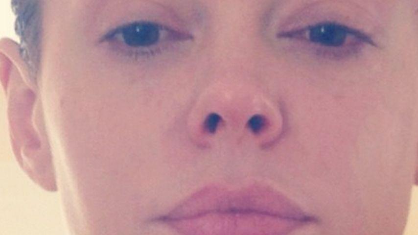 Krasse Wandlung: Rose McGowan mit Kurzhaar-Frisur