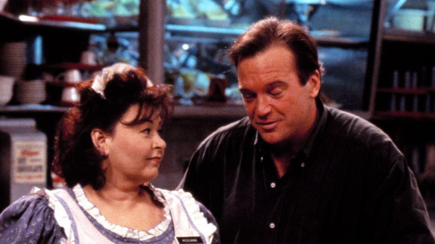 """Roseanne Barr und Tom Arnold in der SitCom """"Roseanne"""""""