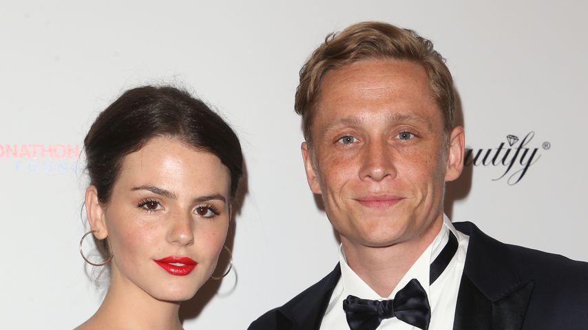 Ruby O. Fee und Matthias Schweighöfer im Mai 2019