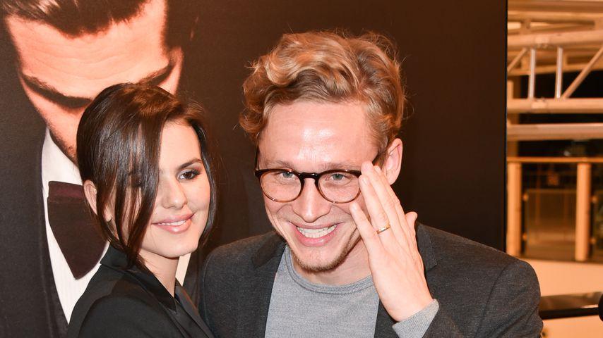 Ruby O. Fee und Matthias Schweighöfer im November 2019