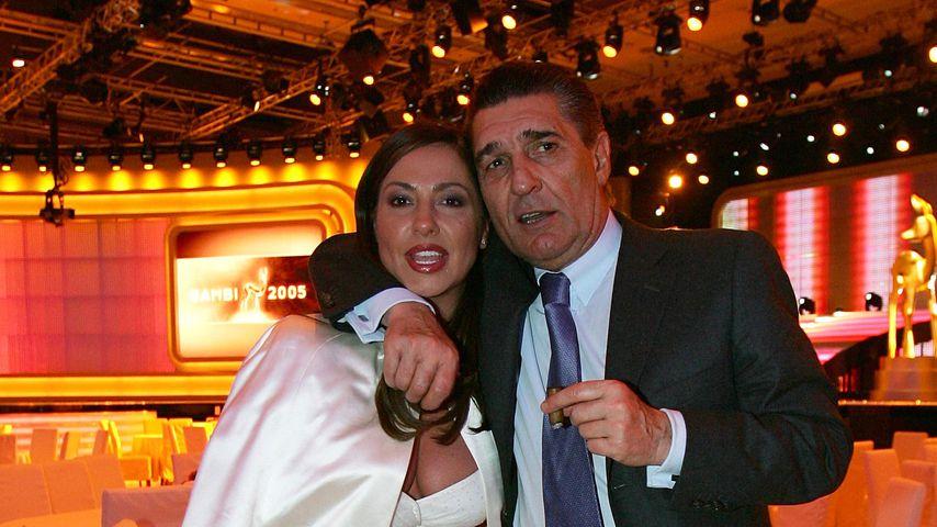 Simone Thomalla und Rudi Assauer beim Bambi 2005