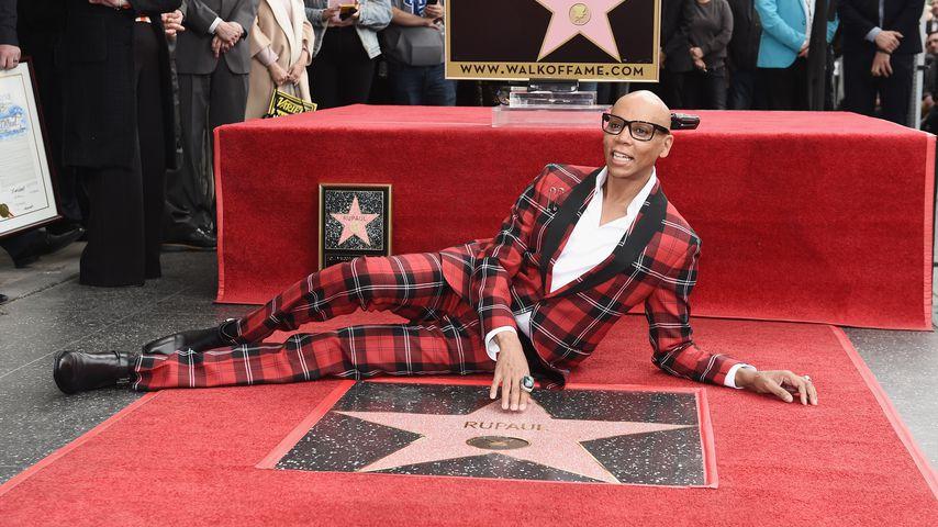 1. Stern für Dragqueen: RuPaul auf Walk of Fame verewigt