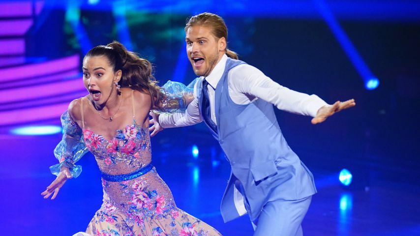"""Rúrik Gíslason und Renata Lusin bei """"Let's Dance"""""""