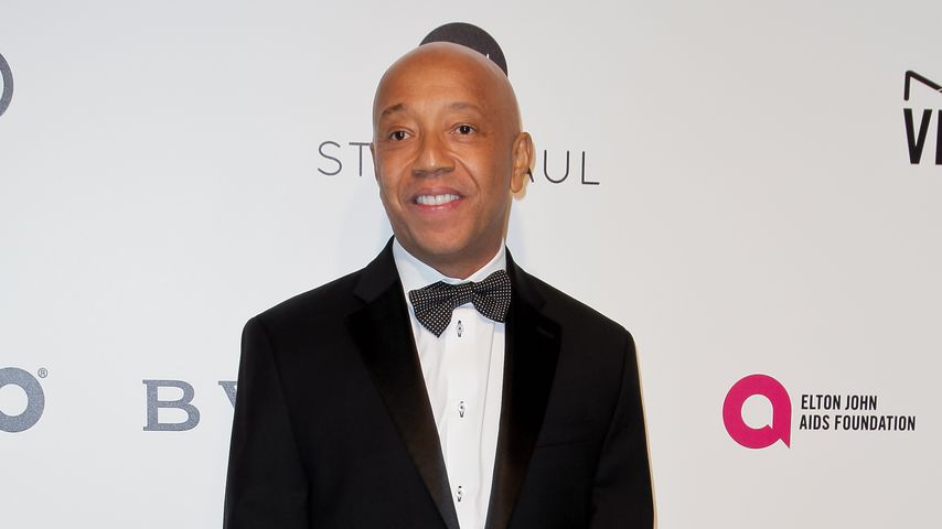 Russell Simmons auf Elton Johns AIDS Foundation's Academy Awards Vieweing Party 2017