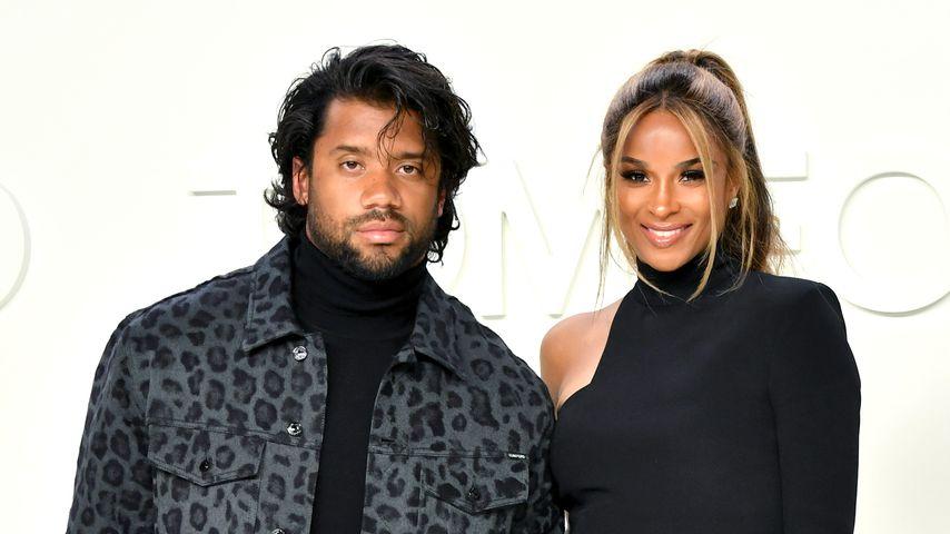Russell Wilson und Ciara im Februar 2020