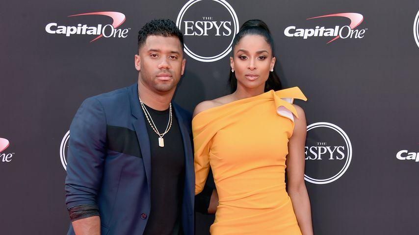 Russell Wilson und Ciara bei den ESPYs 2018
