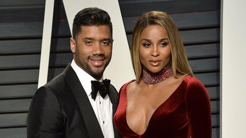 Russell Wilson und Ciara bei den Oscars 2017