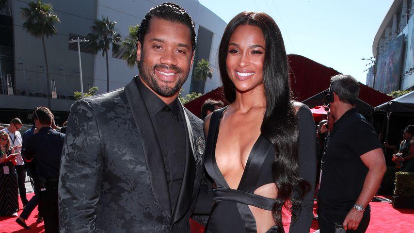 Russell Wilson und Ciara im Jahr 2019