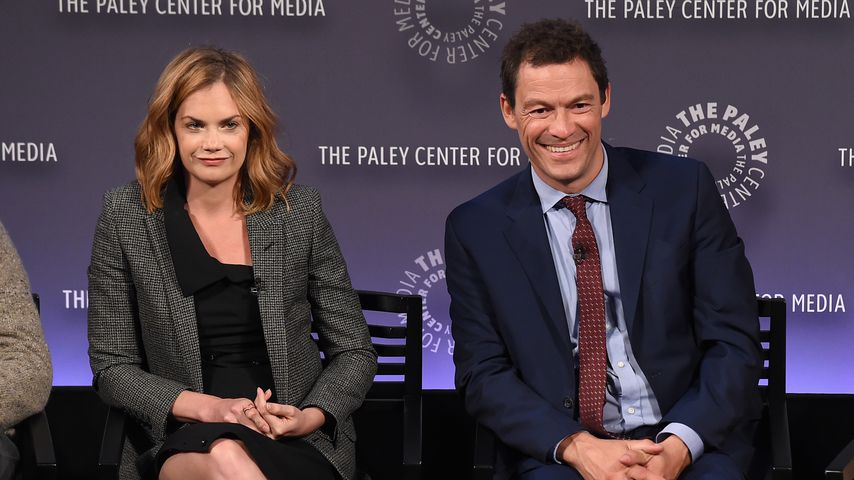 Ruth Wilson und Dominic West in New York 2015