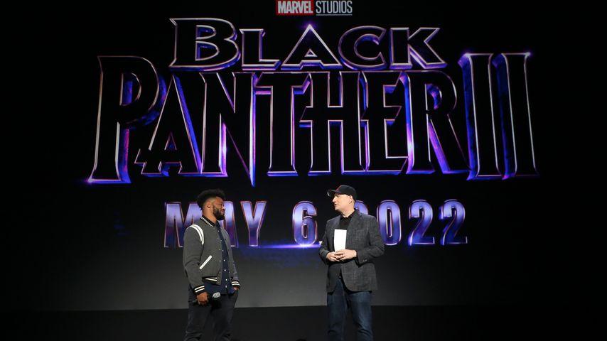 Ryan Coogler und Kevin Feige im Mai 2020