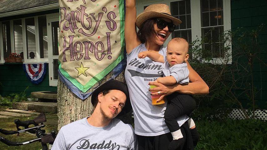 Ryan Dorsey und Naya Rivera mit ihrem Sohn Josey