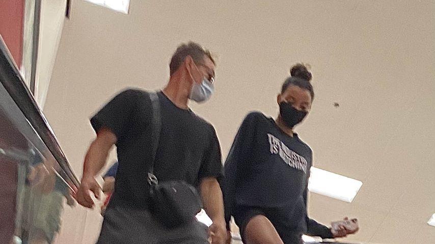 Ryan Dorsey und Nickayla Rivera im September 2020 in Los Angeles