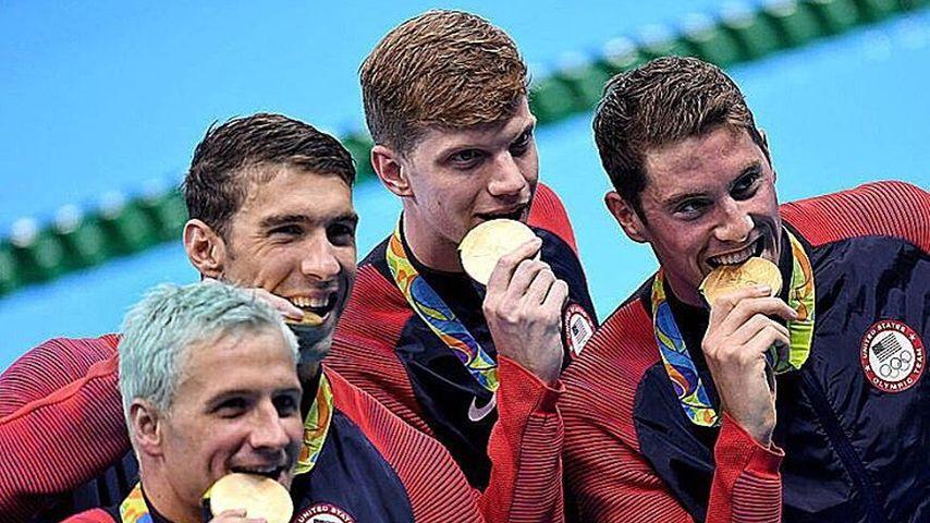 Ryan Lochte gewinnt mit Staffelteam bei Olympia