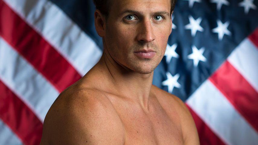 Ryan Lochte beim Shooting der US-Sportler für Olympia