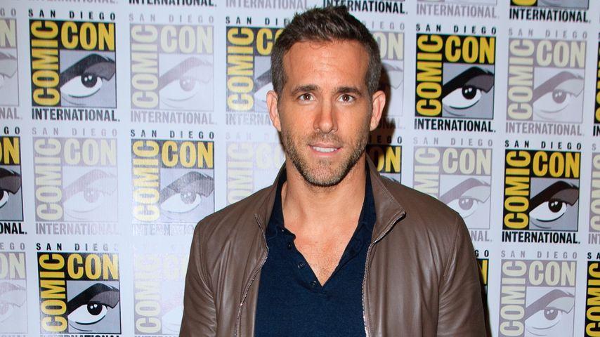 Ryan Reynolds in Sorge: Wird James' 1. Wort ein Fluchwort?