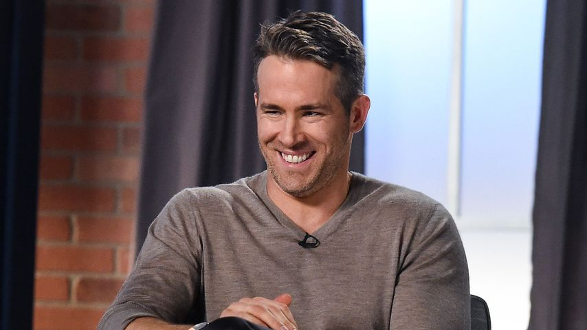 Ryan Reynolds im November 2016 in einer Talkshow in Los Angeles