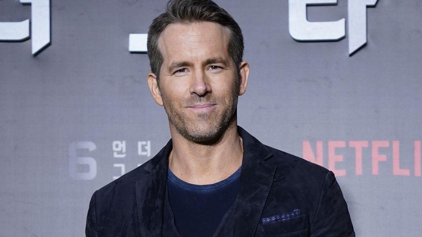 """Ryan Reynolds bei der """"6 Underground""""-Weltpremiere in Seoul im Dezember 2019"""