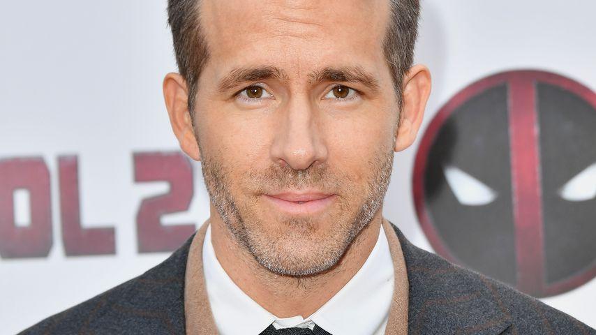 """Ryan Reynolds bei einer """"Deadpool 2""""-Filmvorführung in NYC im Mai 2018"""