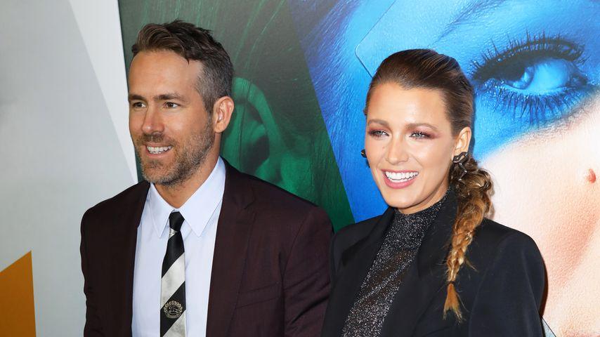 Ryan Reynolds & Blake Lively erstmals seit Geburt gesichtet