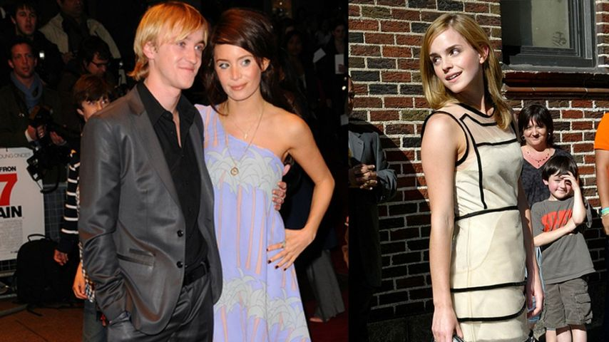 Emma Watson war in Tom Felton verknallt