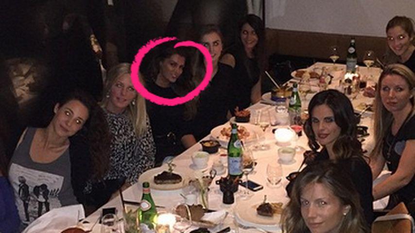 Drin im Club: Sabia feiert mit den HSV-Frauen