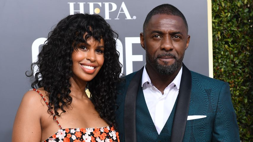 Sabrina Dhowre und Idris Elba im Januar 2019 in Kalifornien
